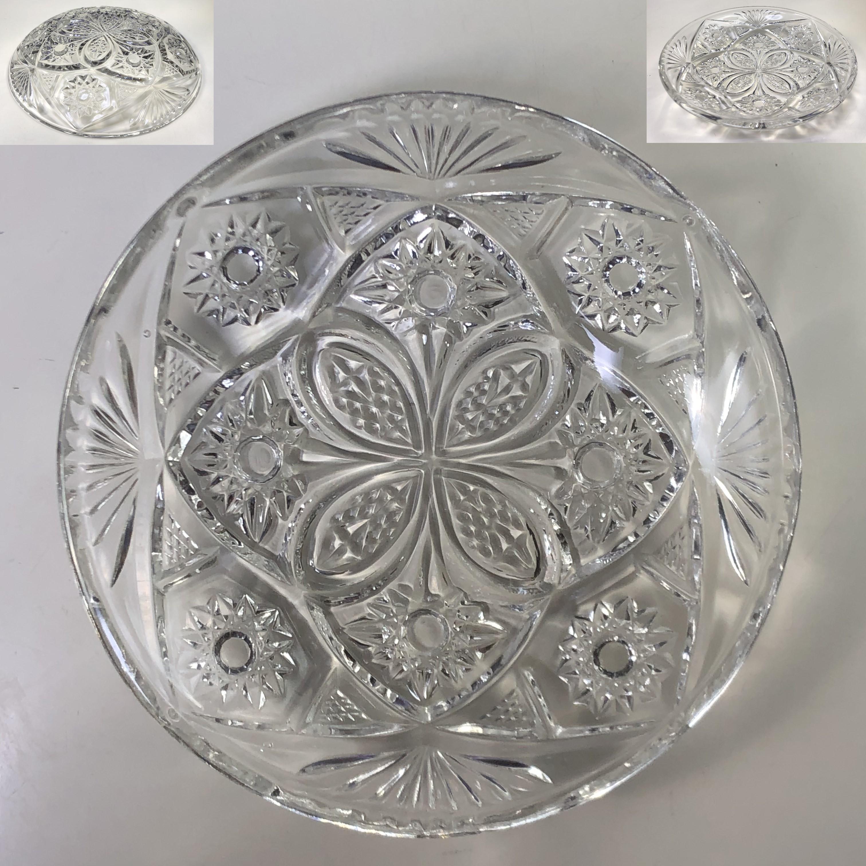 SOGAクリスタルガラスプレートR7124