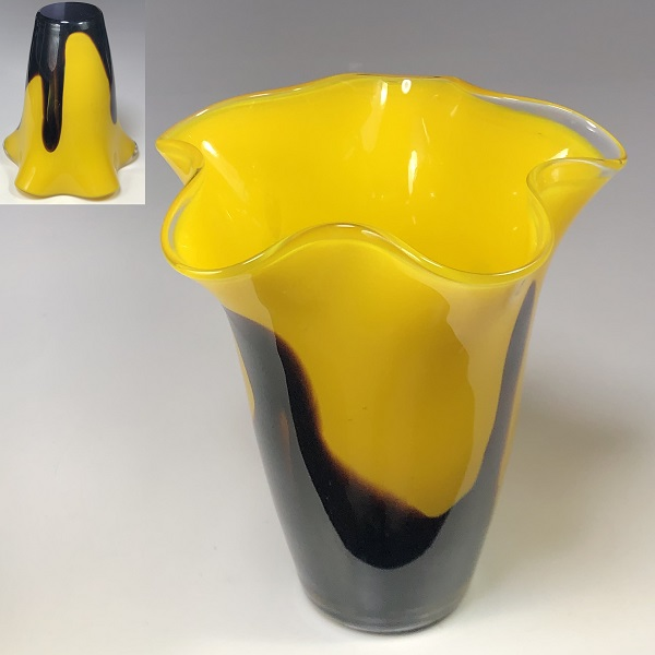 ガラス花瓶R7132