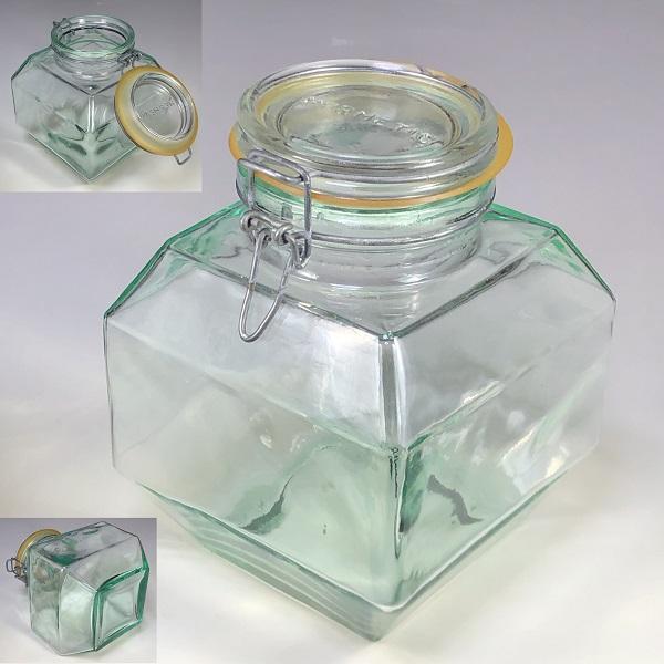 HERMETICイタリア製ガラス保存瓶