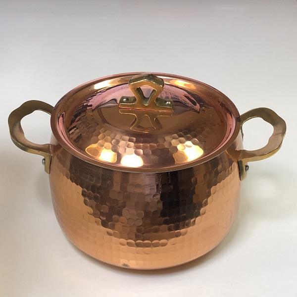 昭和レトロエスエス銅鍋18cm2L