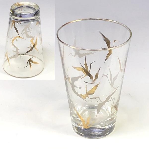 佐々木グラス鶴ガラスコップR7358