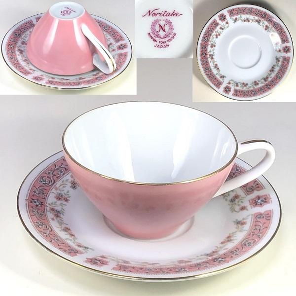 ノリタケ日本陶器会社カップ&ソーサーR7390