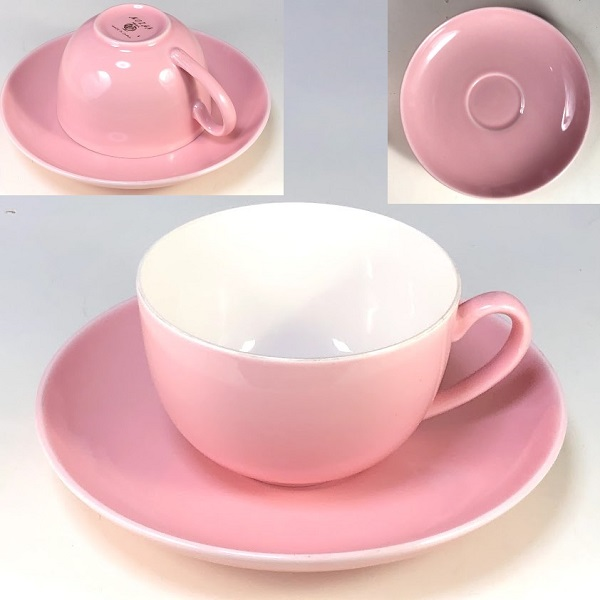 ピンクカップ&ソーサーR7406