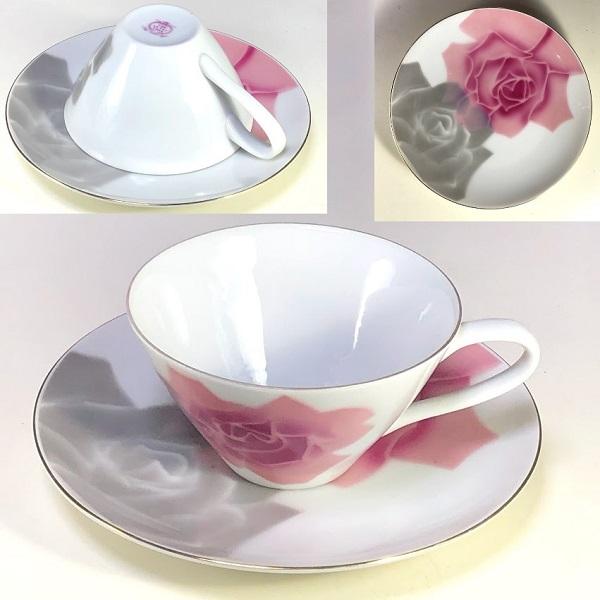 SEYEI花柄薔薇柄カップ&ソーサーR7427