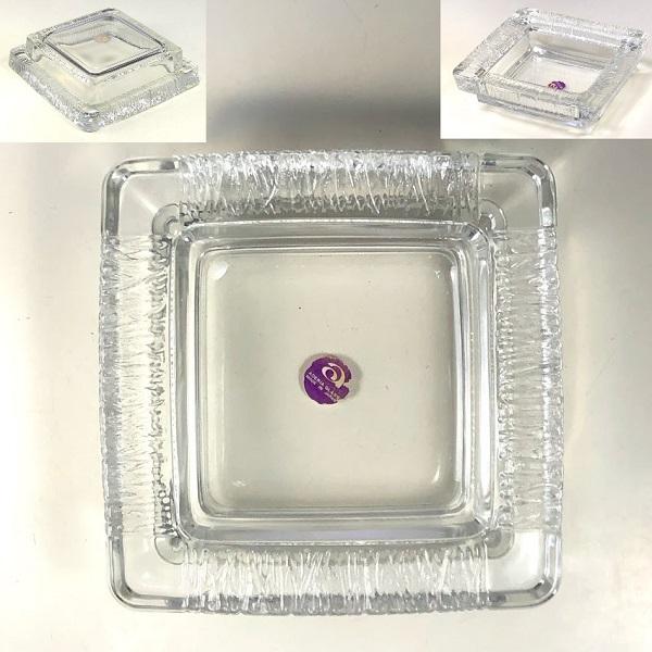 アデリアガラス灰皿R7431