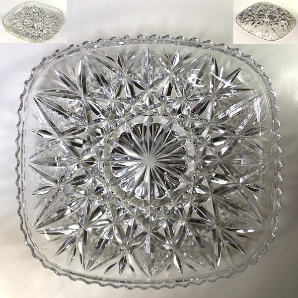 HOYA保谷クリスタルガラス盛皿