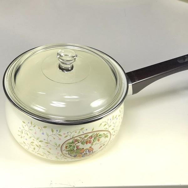 YAMAHIROホーロー片手鍋2.3L18cm