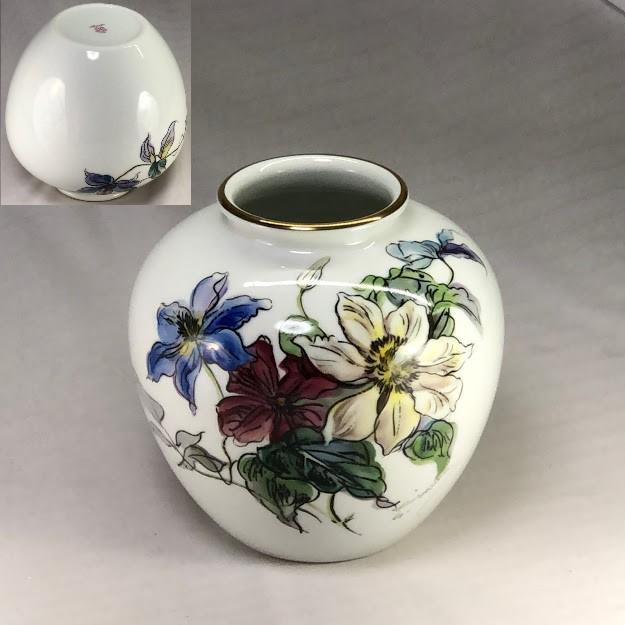 ノリタケ木村商会花瓶