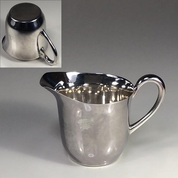 マーシャンステンレス銀メッキクリーマーR6511