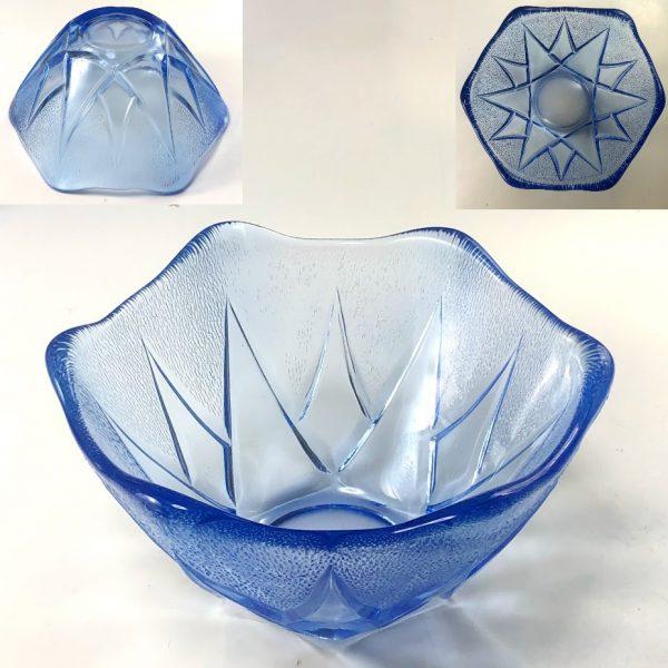 青ガラス小鉢R7517
