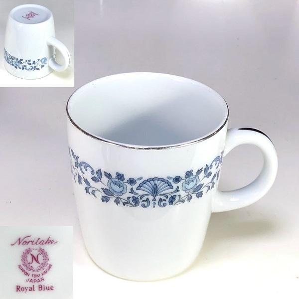 ノリタケロイヤルブルーマグカップ
