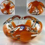 SOGAグラスオレンジガラス灰皿