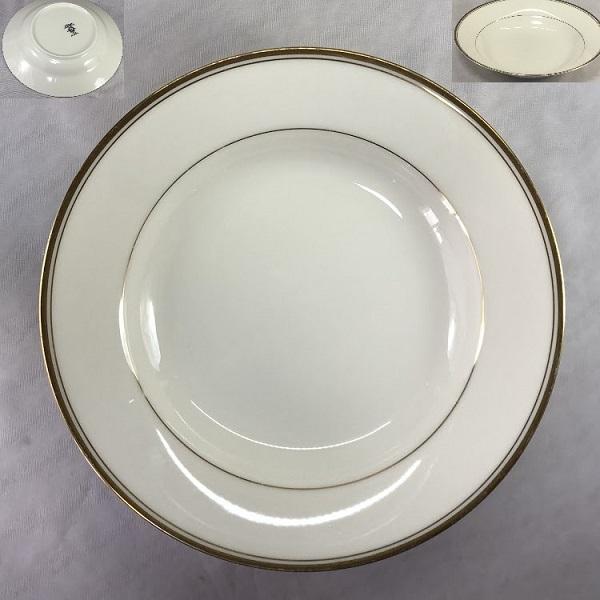 ノリタケLINTONアイボリーチャイナカレー皿