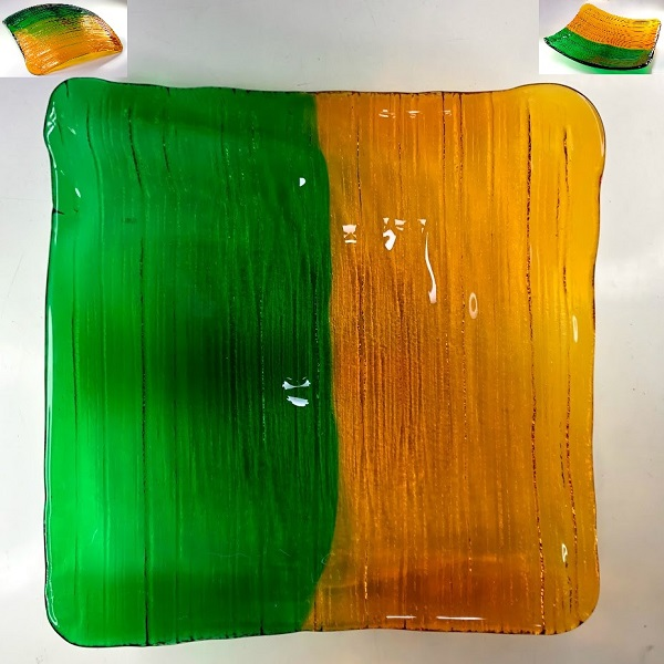 ガラス盛皿R7581