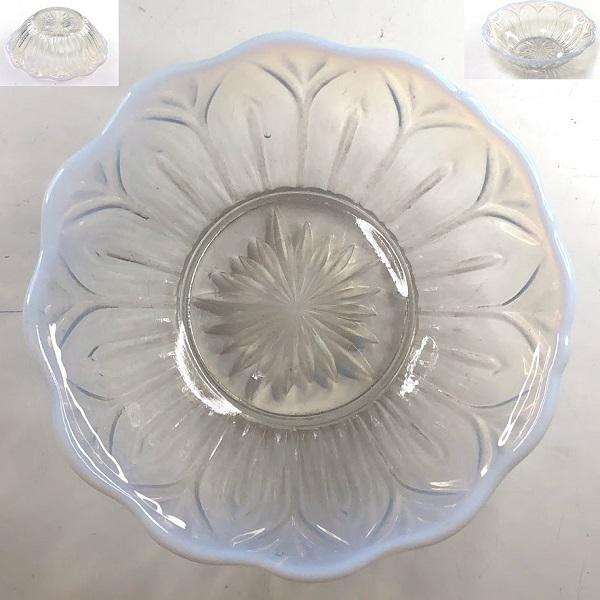 ガラスプレス皿カキ氷小鉢R7606