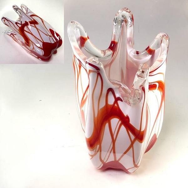 ガラス花瓶R7607
