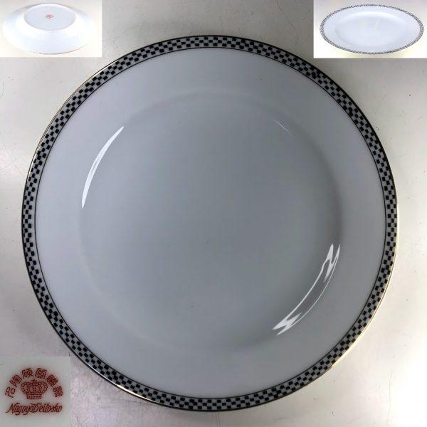 名古屋製陶名陶硬質磁器16cmプレート