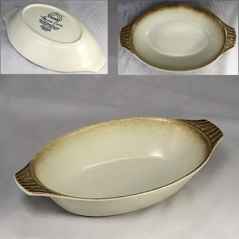 サンマルクストーンウェアグラタン皿