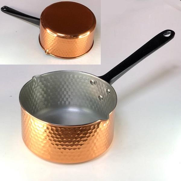 銅片手鍋雪平鍋ミルクパン