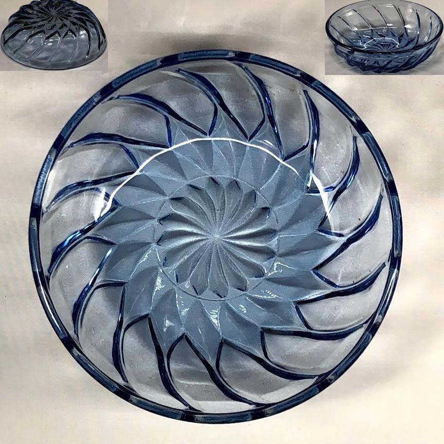 青ガラス小鉢R6247