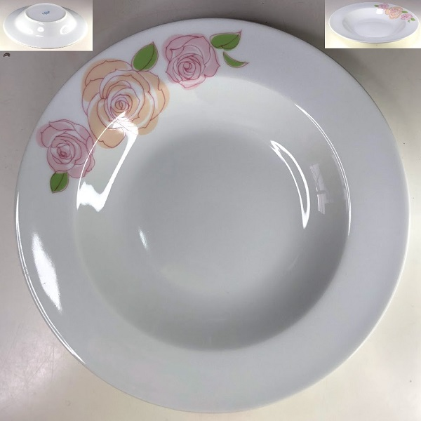 ナルミスープ皿R7678