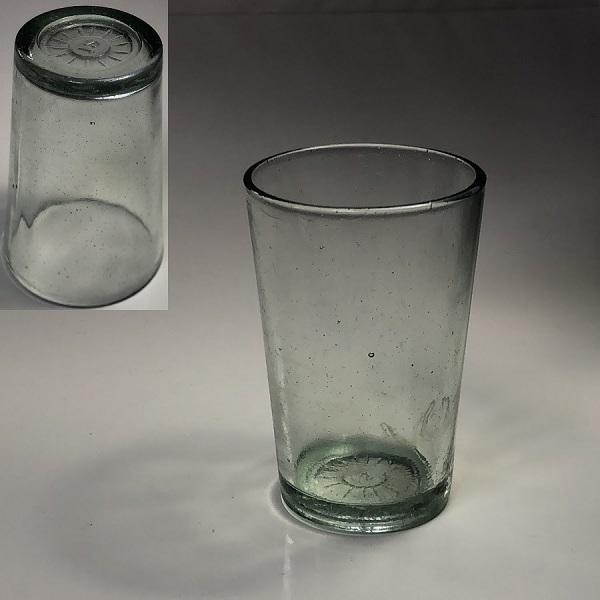 昭和レトロガラスコップR6559