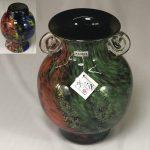 カメイガラス耳付花瓶R6285