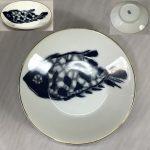 名陶MEITO魚柄小皿R6329