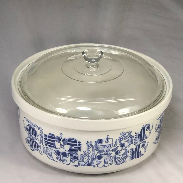 電子レンジ専用陶器製キャセロール煮込鍋