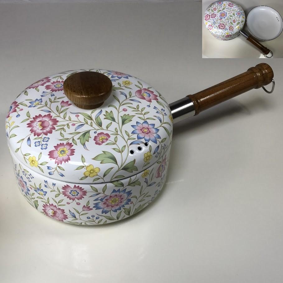 ホーロー片手鍋R6581