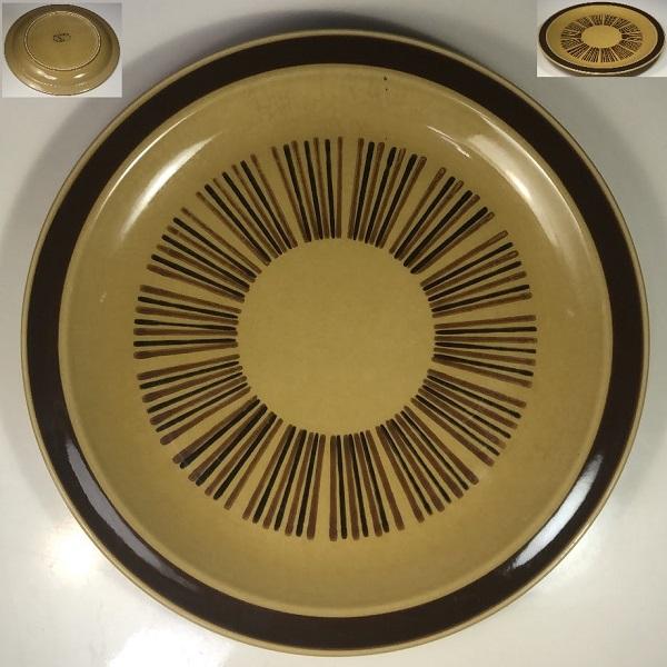 ストーンウェア26.5cmプレートR6599
