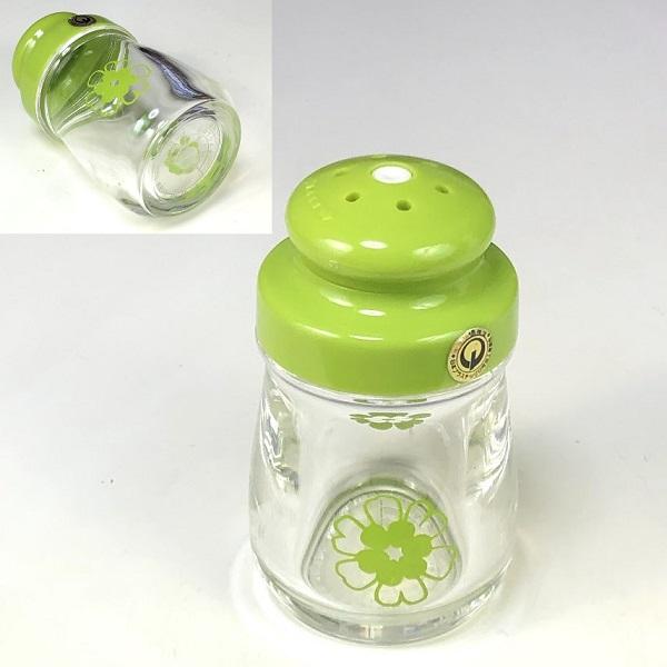 プラスチック塩差し緑R7183