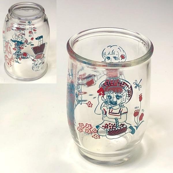 昭和レトロガラスカップR7192