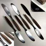DIXON SCANDIA ステンレスディナーナイフ6本セットR7217
