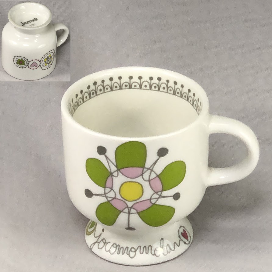 Jocomomolaホコモモラ花柄マグカップ