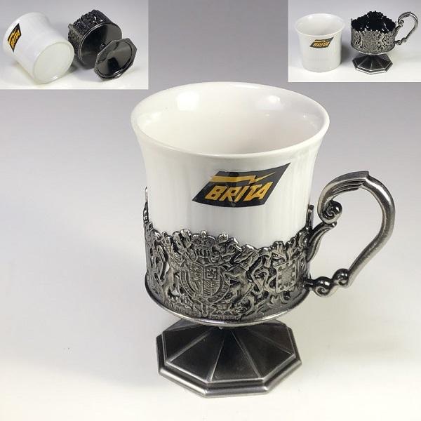 ダイキャストクロームニッケル仕上げカップ