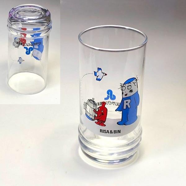 ガラスびんリサイクリング推進連合ガラスコップ