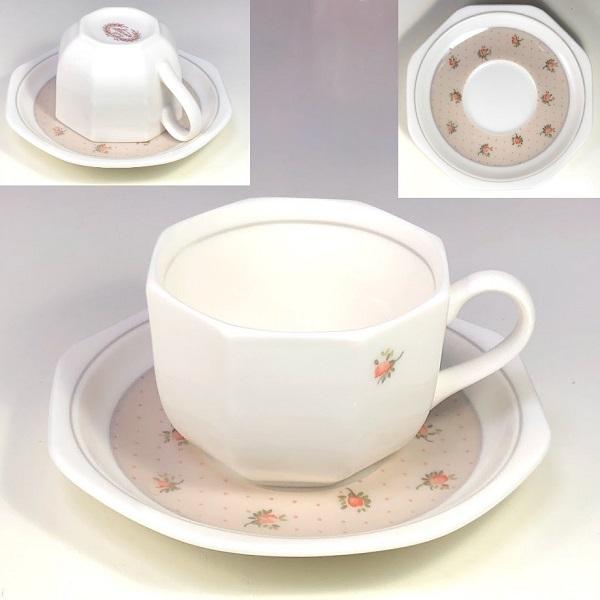 Sanwa花柄カップ&ソーサー