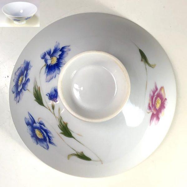 花柄茶碗R7284